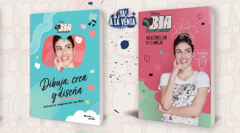 «Vacaciones con amigas» y «Dibuja, crea y diseña» los dos libros de BIA con extracto